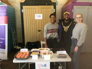 Mayor of Sheffield Magid Magid stopped by!