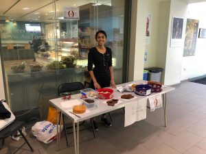 Medical school bake sale