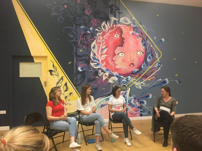 Menstrual research panel discussion at MH Day 2019