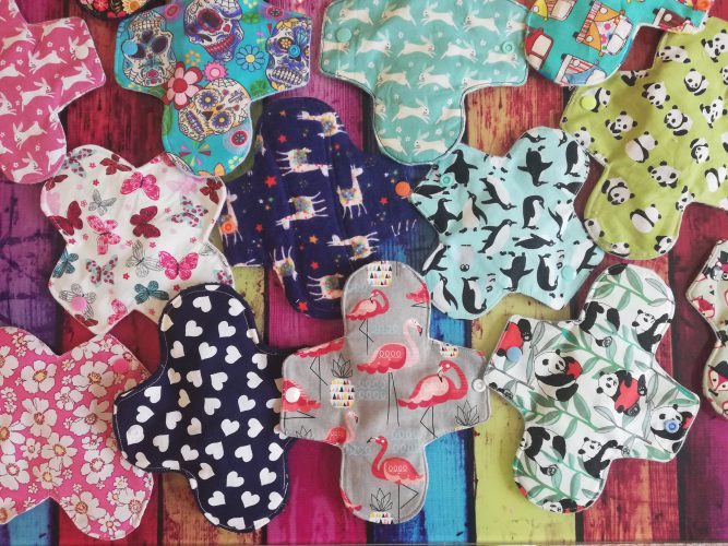Our beautiful selection of handmade pads